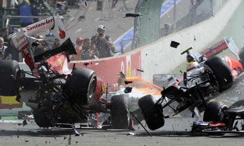 Race Car Crash 1
