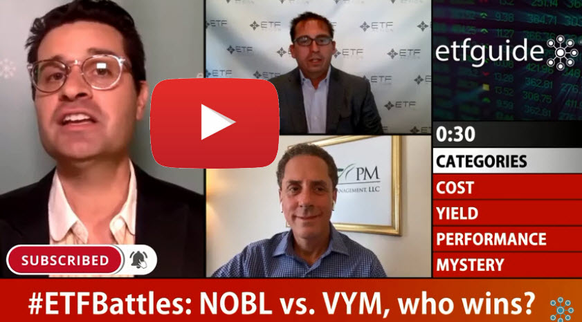 ETF Battles: NOBL vs. VYM – Which Dividend ETF is the Better Choice?